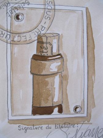 laurent bessot peinture la bi re et au vin rouge. Black Bedroom Furniture Sets. Home Design Ideas