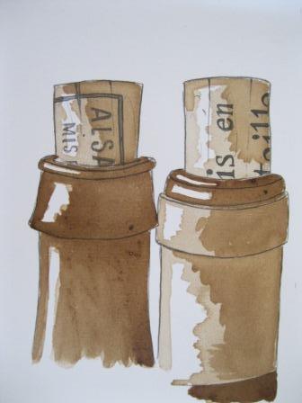 Laurent Bessot Duo de bouteilles